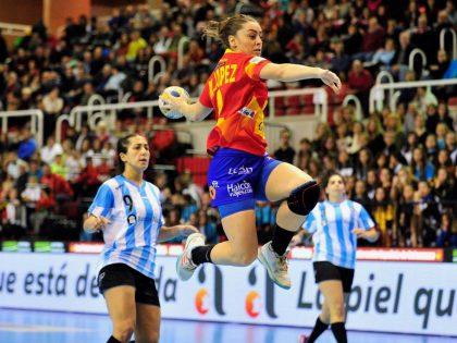 Acabados Abellán sponsor of the International Championship of feminine handball of Elda